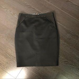 Black Ted Baker Black Pencil Skirt